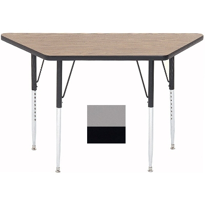 Correll A2448-TRP 13 Activity Table w/ 1.25-in High Pressure Top, 24 x 24 x 48-in, Dove Gray