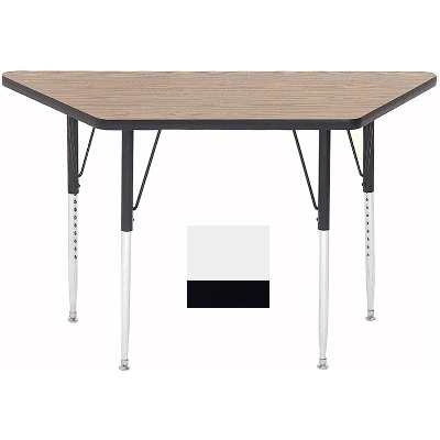 Correll A2448-TRP 36 Activity Table w/ 1.25-in High Pressure Top, 24 x 24 x 48-in, White