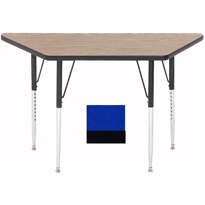 "Correll A2448-TRP 37 Activity Table w/ 1.25"" High Pressure Top, 24 x 24 x 48"", Blue"