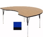 "Correll A4872-KID 37 Activity Table w/ 1.25"" High Pressure Top, 48 x 72"", Blue"
