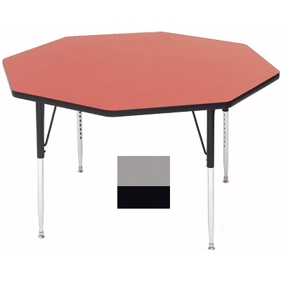 Correll A48-OCT 13 Activity Table w/ 1.25-in High Pressure Top, 48-in Octagonal, Dove Gray