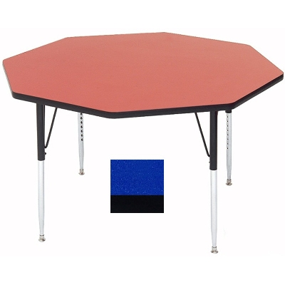 Correll A48-OCT 37 Activity Table w/ 1.25-in High Pressure Top, 48-in Octagonal, Blue
