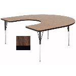Correll A6066-HOR 01 Activity Table w/ 1.25-in High Pressure Top, 60 x 66-in, Walnut