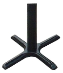 Correll BC2230-T Cross Base w/ Table Height Column, 22 x 30-in