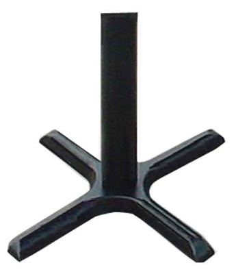 "Correll BX22-B 22"" Bar Stool X-Base - Black"
