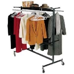 Correll COAT RACK KIT 01 Coat Rack Rod Only - For Up To 84 Coats, Brown
