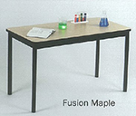 Correll LR3672 16 Economical Library Table Wear Resistant Surface T Mold Edge 36x72-in Fusion Maple