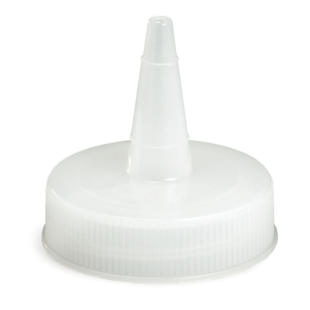 Tablecraft 100TC Squeeze Bottle Top, Cone Shaped, Natural