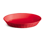 Tablecraft 13759R 9-in Round Platter Basket, Polypropylene, Red
