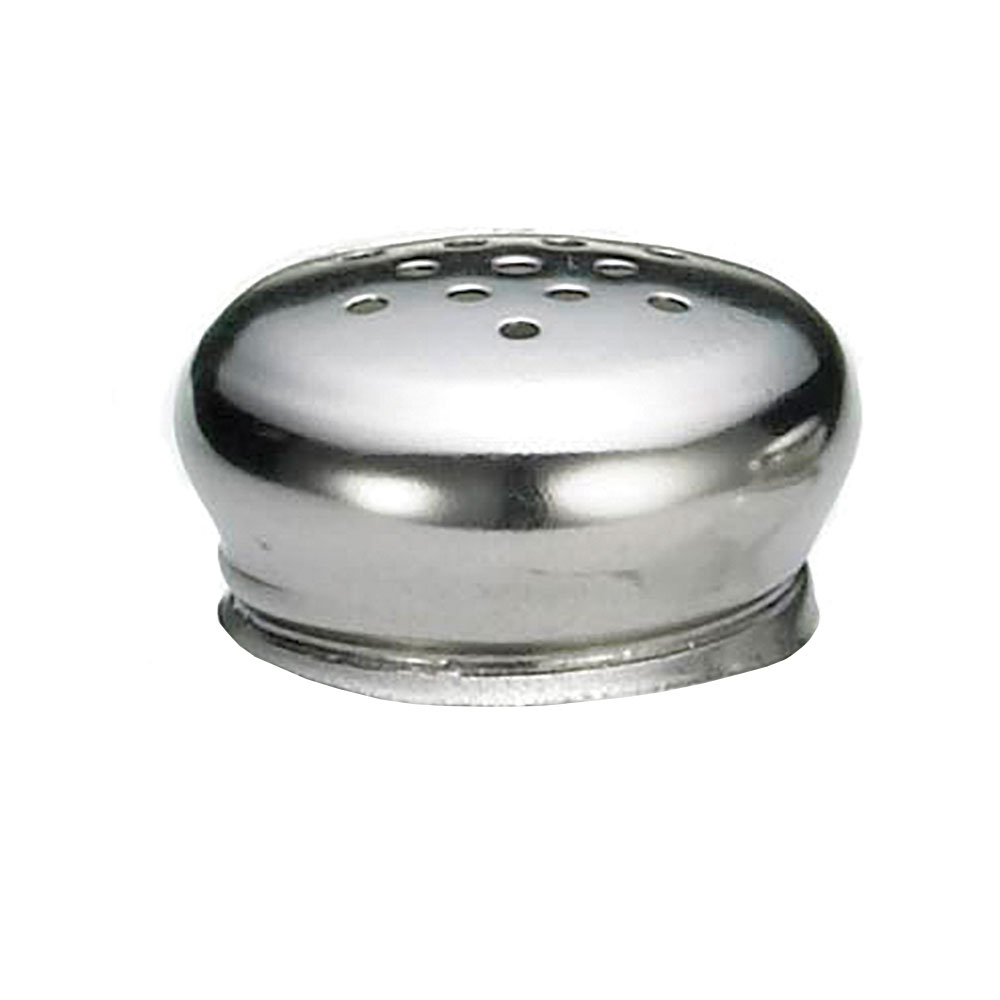 Tablecraft 150T Salt Pepper Shaker Top For 150 & 155, Stainless