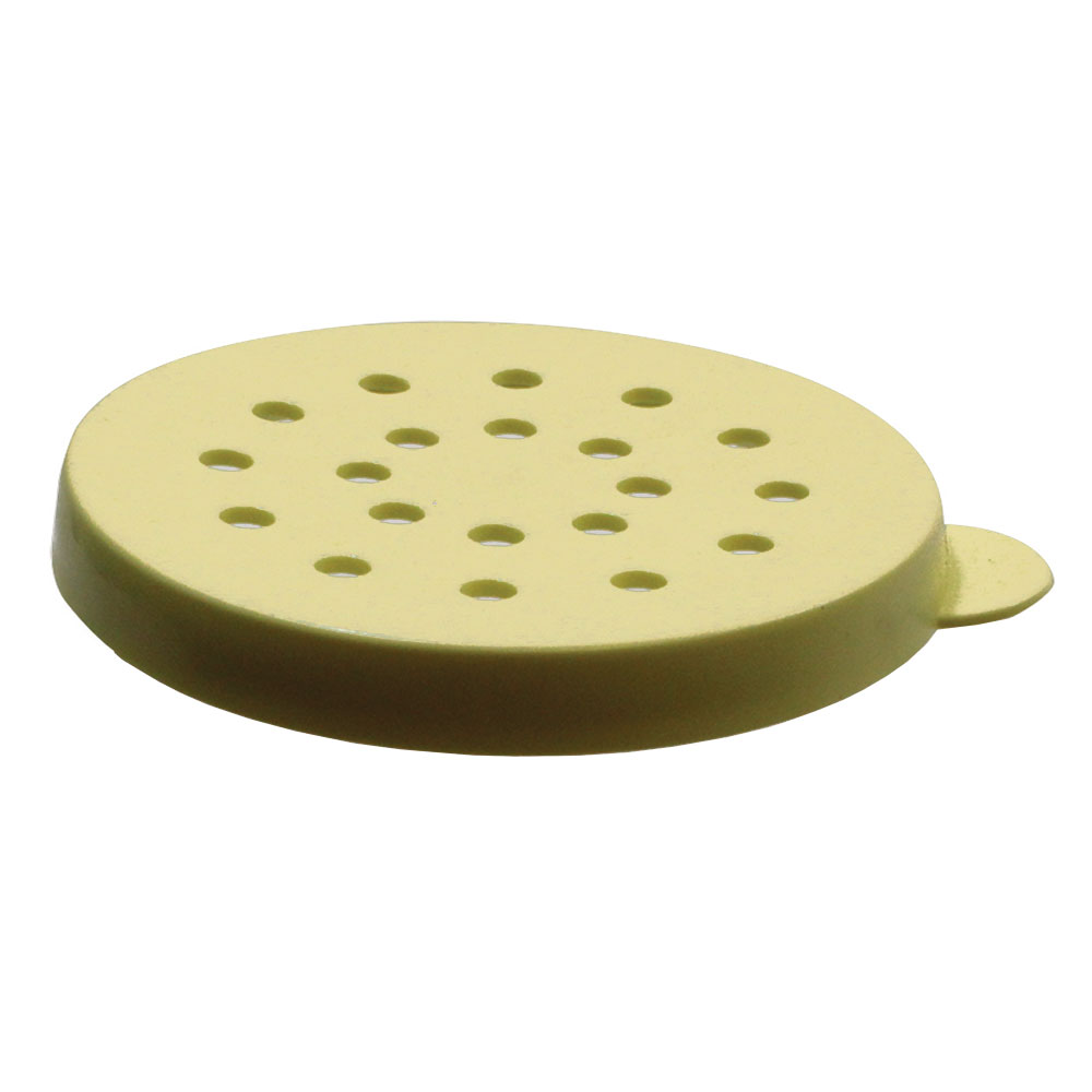 Tablecraft 166DT Universal Dredge Lid, Poly, Snap Tight, Yellow Only