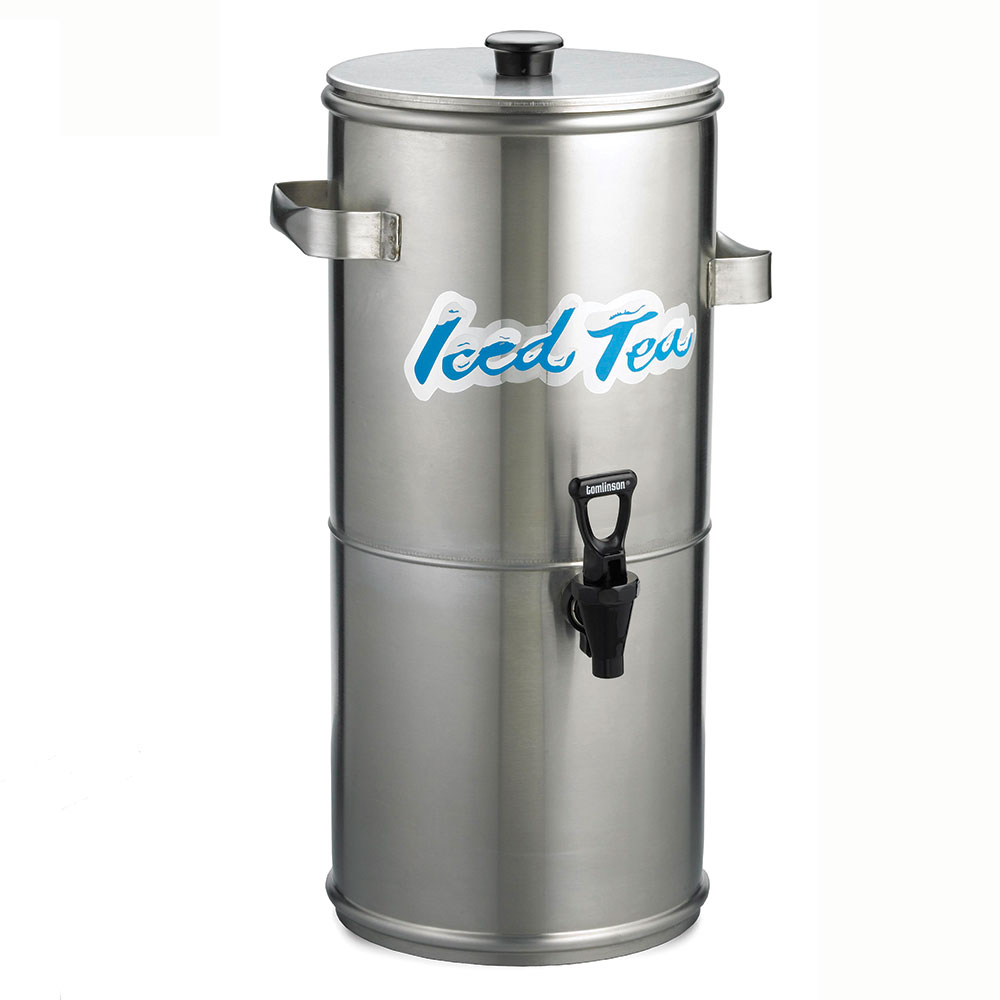 Tablecraft 1958 3-Gallon Beverage Dispenser, Stainless Steel, Heavy Duty Faucet