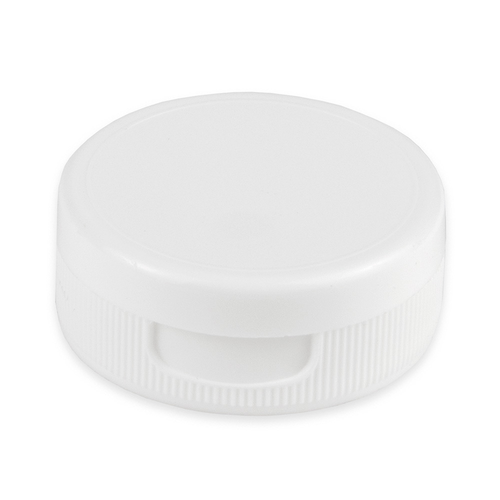 Tablecraft 200TC White Squeeze Bottle Hinged Top, Fits All Size Squeeze Dispensers