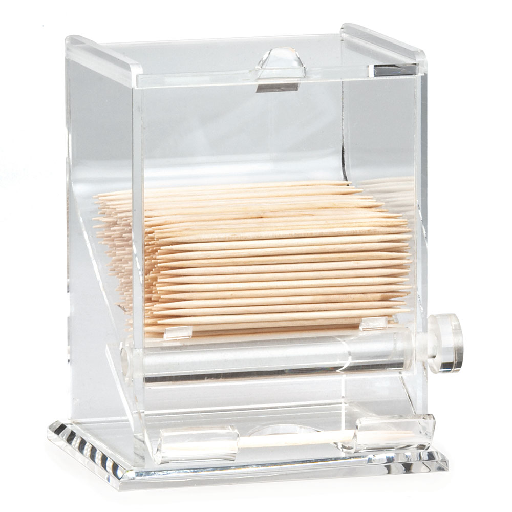 Tablecraft 228 Toothpick Dispenser, Acrylic, Clear