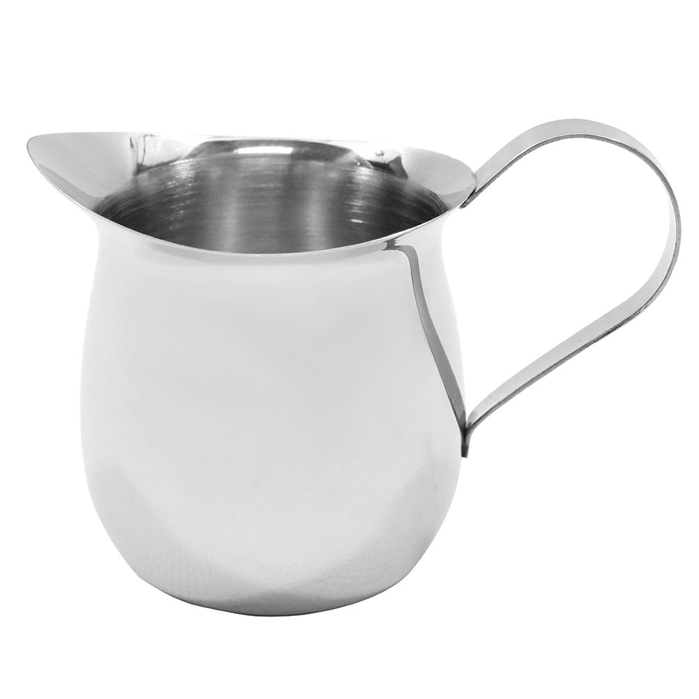 Tablecraft 2316 16-oz Stainless Steel Bell Creamer, Mirror Finish