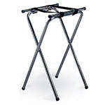 Tablecraft 24 Tray Stand w/ Chrome Plated, Tubular Construction, Double Bar