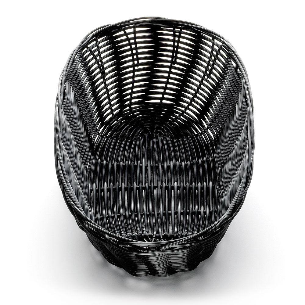 "Tablecraft 2476 Handwoven Basket, 10 x 6-1/2 x 3"", Polypropylene Cord, Oval"