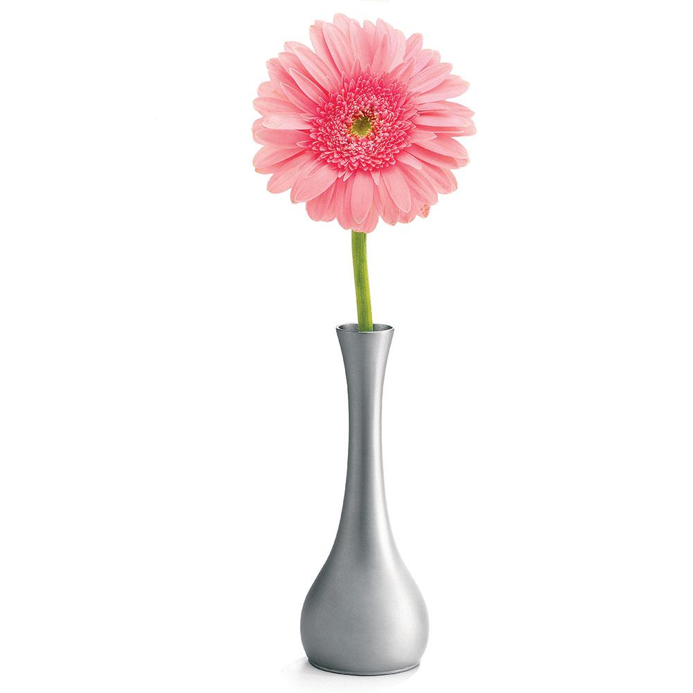 """Tablecraft 269 7"""" Metal Flower Vase"""