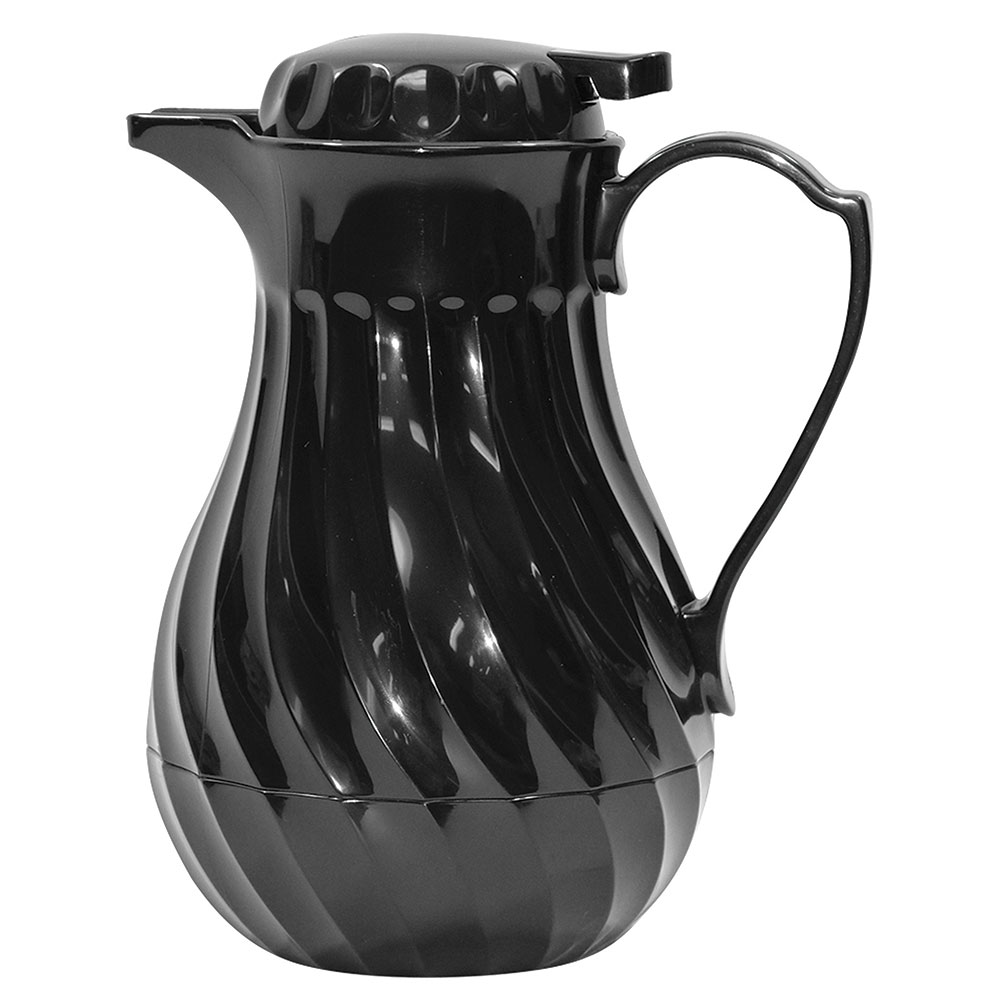 Tablecraft 272 20-oz Coffee Decanter w/ Thumb Press, Color Tag Set Included