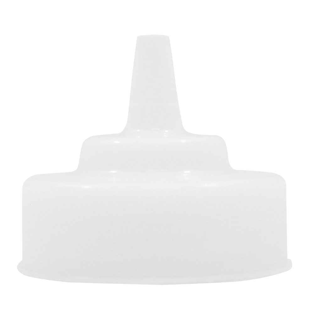 Tablecraft 353TC Squeeze Bottle Cone Wide TipTop Only, Natural