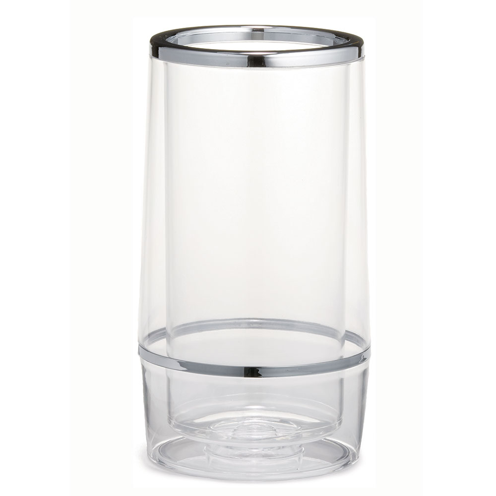 Tablecraft 36 Acrylic Wine Cooler w/ Double Wall Insulation