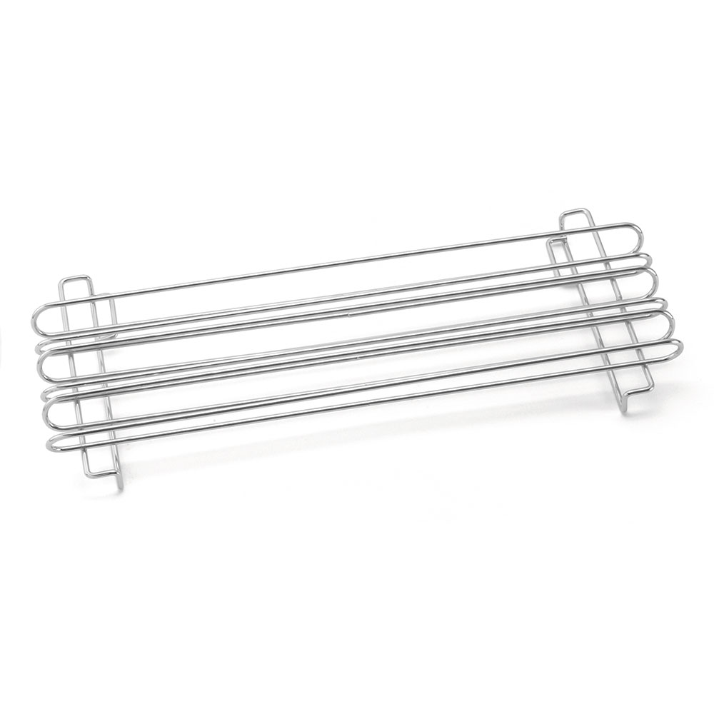 Tablecraft 4040 Taco Rail, Holds (12) 6-in Taco Shells, Chrome Plated