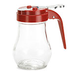 Tablecraft 406RE Syrup Dispenser, 6 oz., Teardrop