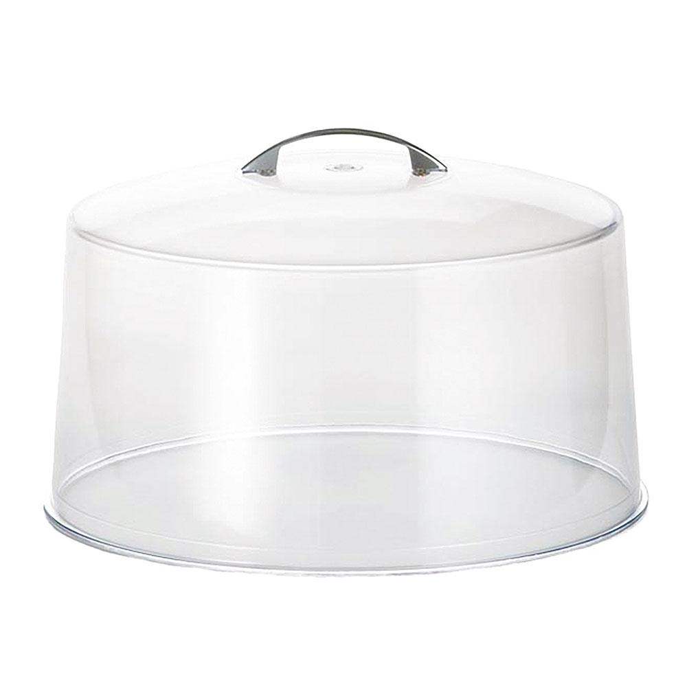 Tablecraft 422-COVER Cake Cover, 12 in, Metal Handle, Cover Only