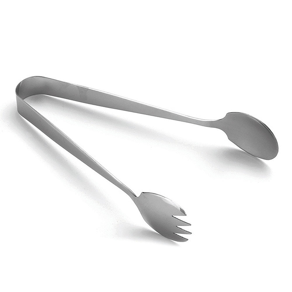 Tablecraft 4403 Stainless Steel Serving Tongs, 7.5 in L