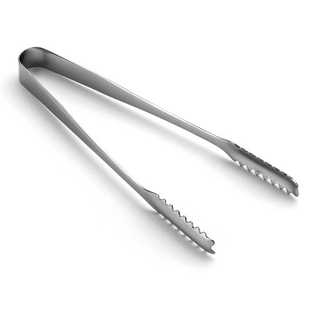 Tablecraft 4405 Stainless Steel Serving Tongs, 6.5 in L