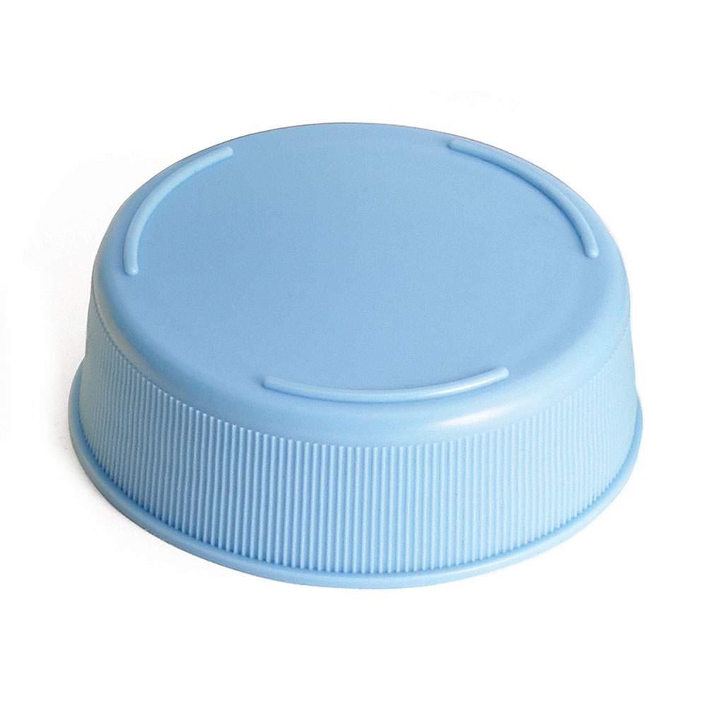 Tablecraft 53FCAPLBL Squeeze Bottle End Cap - Light Blue