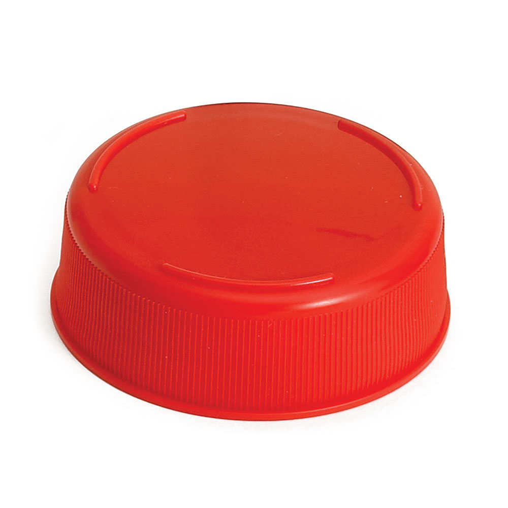 Tablecraft 53FCAPR Squeeze Bottle End Cap - Red