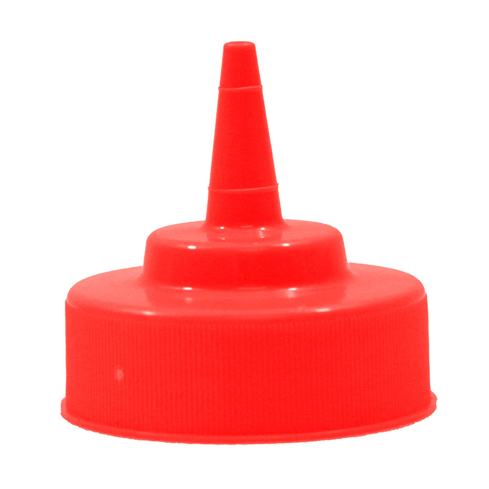 Tablecraft 53TK Red Cone Tip Top, Fits all 53-mm Wide Mouth Dispensers
