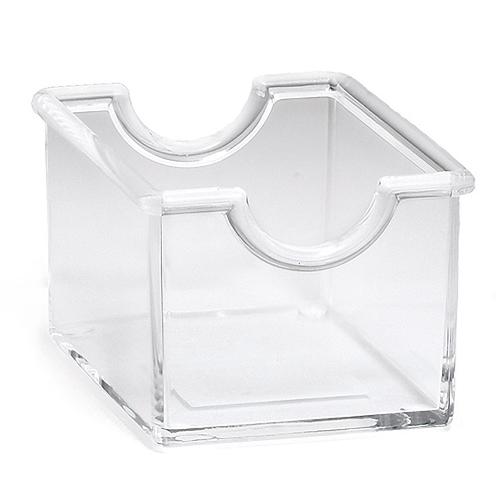 Tablecraft 56C Clear Styrene Sugar Packet Rack