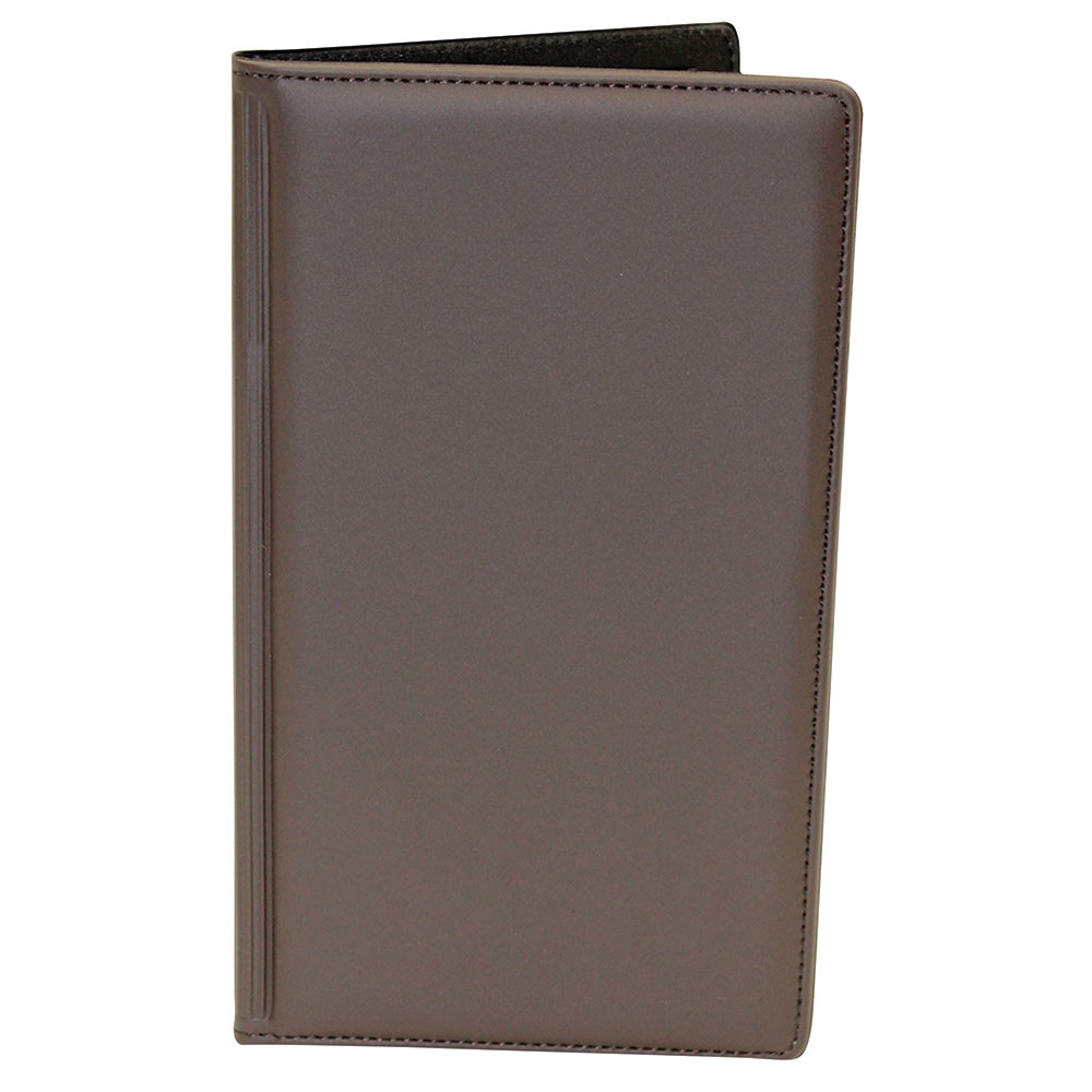 Tablecraft 59BR Check Presentation Holder, Brown w/ Gold Imprinted Thank you