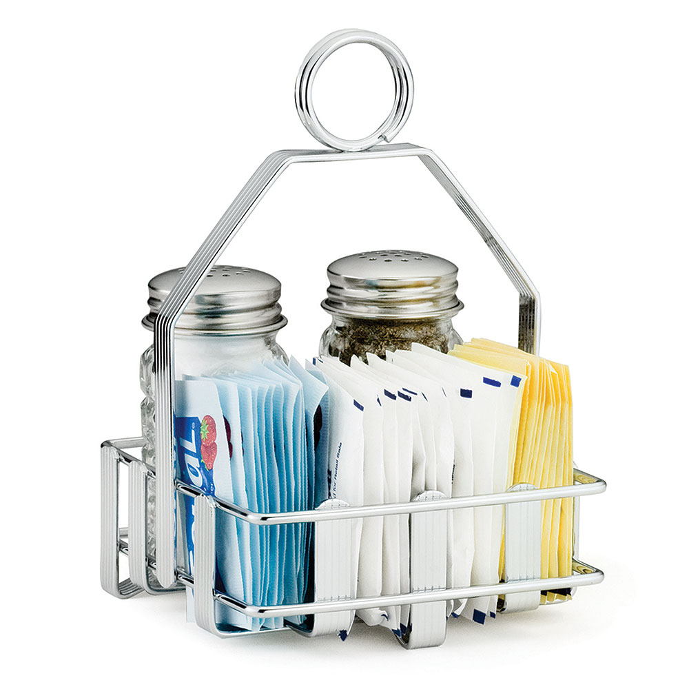 Tablecraft 606R Salt Pepper Shaker Rack