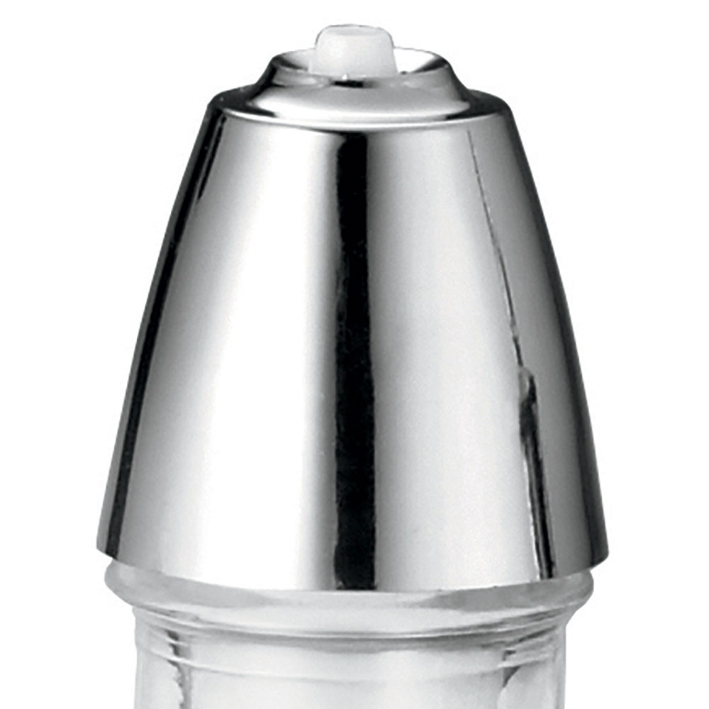 Tablecraft 608T Oil And Vinegar Dispenser Top, Chrome Plated ABS