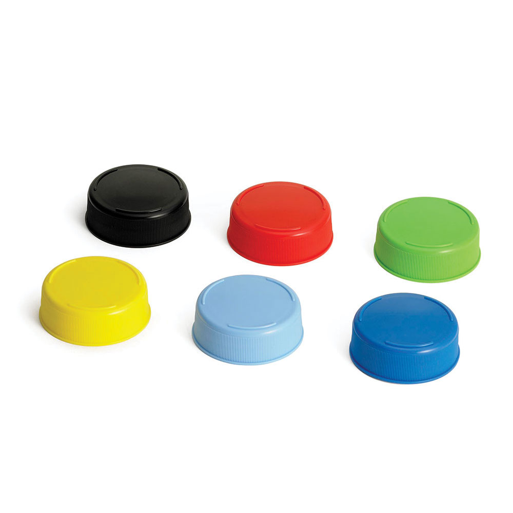 Tablecraft 63FCAPA Squeeze Bottle End Cap - 63mm, Plastic