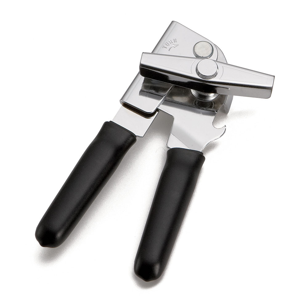 Tablecraft 709 Swing-A-Way Can Opener w/ Ergonomic Grip, Black