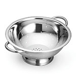 Tablecraft 713 13-Quart Stainless Steel Colander w/ Mirror Finish, Tube Handles