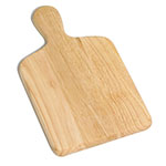 Tablecraft 79 Natural Finish Wood Bread Board, 13 x 7-3/4""