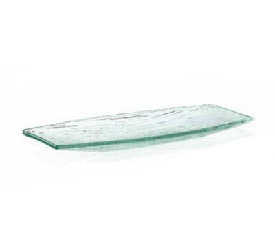 Tablecraft A157 Oblong Cristal Collection Tray 15 x 6.75 in Restaurant Supply