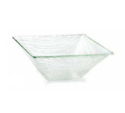 Tablecraft AB12 Square Cristal Collection Bowl, 11.5 x 4.5 in, Acrylic