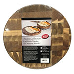 "Tablecraft ACARD14 14"" Display Board - End Grain Wood"
