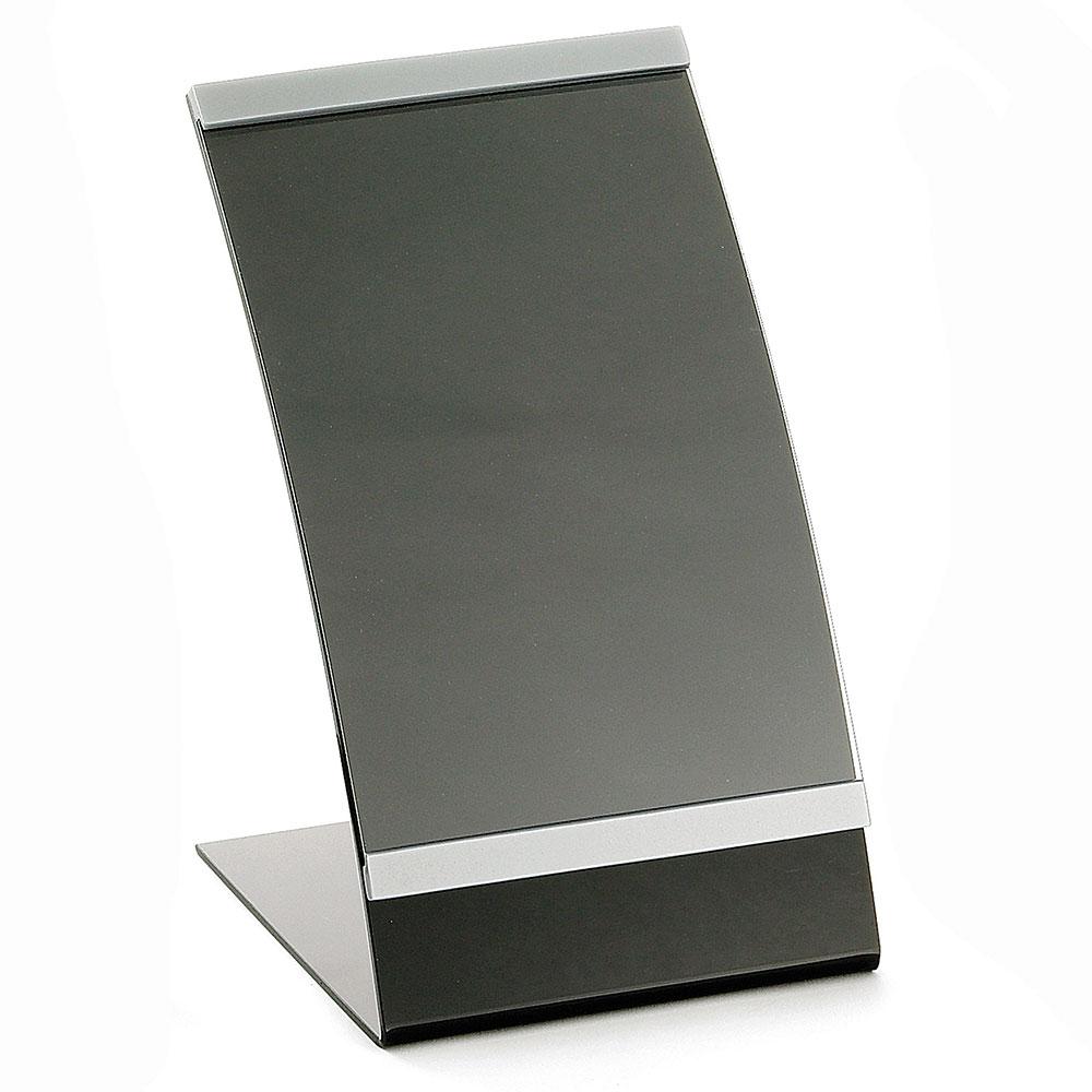 "Tablecraft AS57 Acrylic Curved Menu Holder, 5-1/2 x 8-1/2"""
