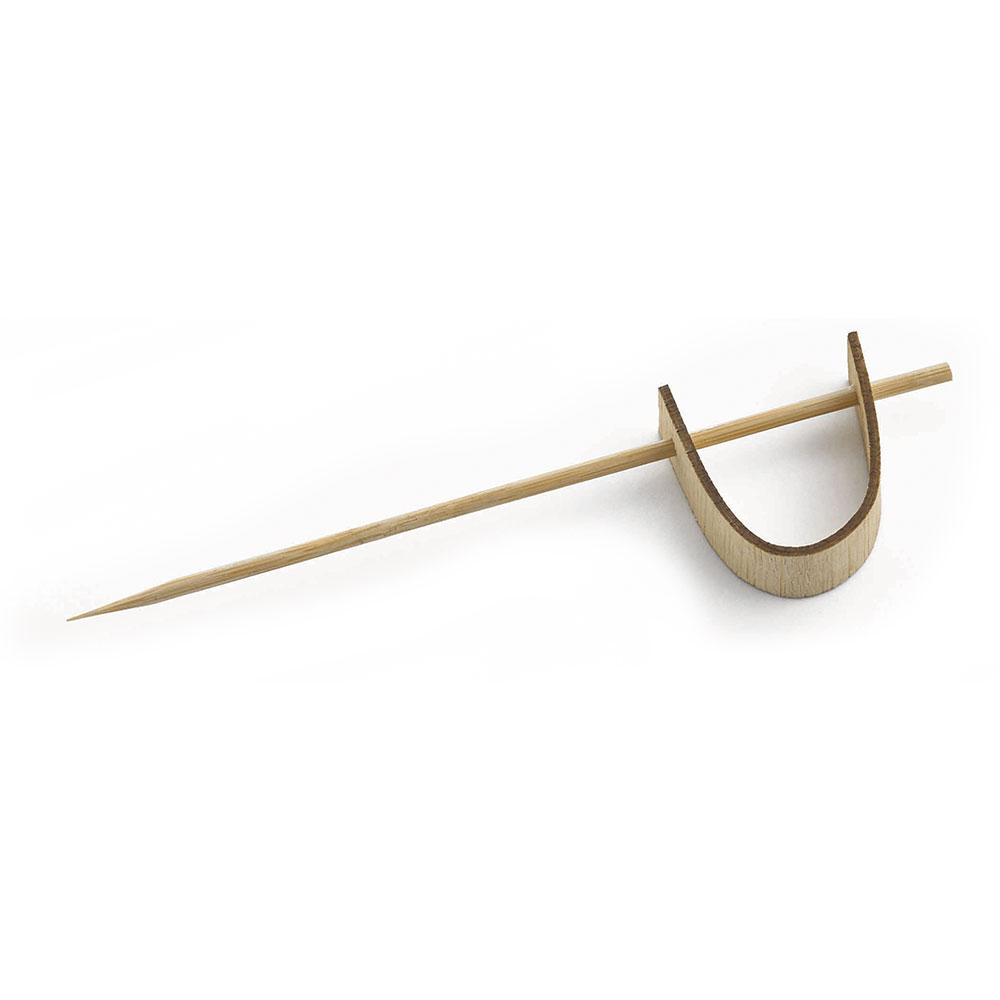 "Tablecraft BAMPS45 4.5"" Bamboo Sword Pick"