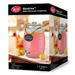 "Tablecraft BDG1000 2.5-gal Beehive Beverage Dispenser w/ Infuser - 10.75"" x 16.25"", Glass"