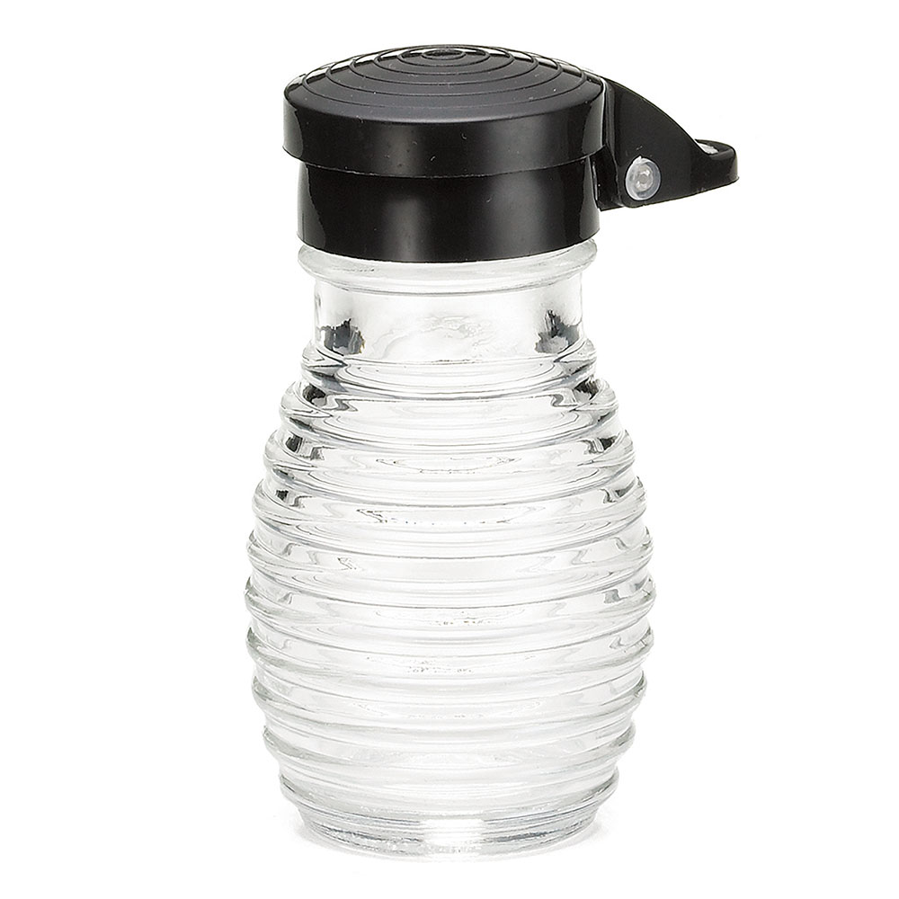 Tablecraft BH2MPBK 3.2 Salt/Pepper Shaker w/ Plastic Lid, Round