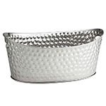 "Tablecraft BT2013 Oval Beverage Tub, 20.5 x 13.5 x 8.75"", Stainless"
