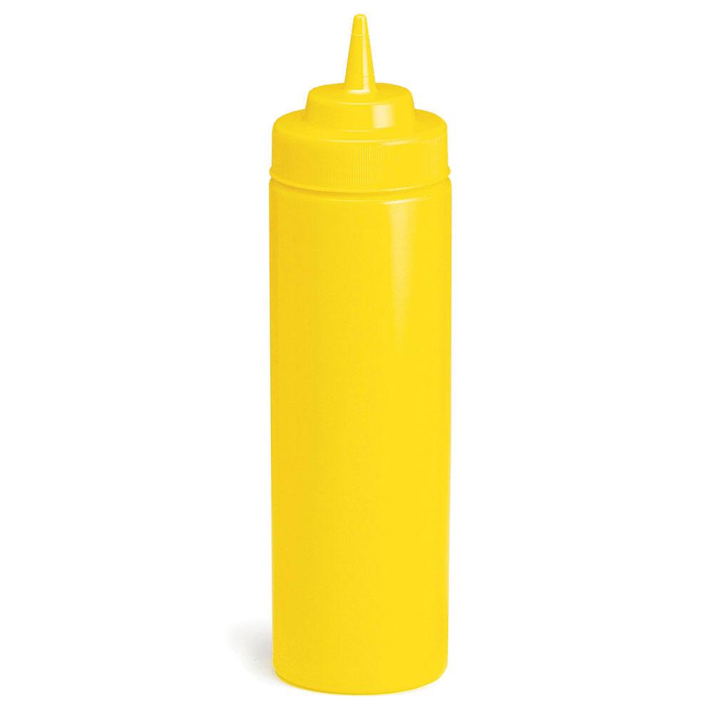 Tablecraft C12463M Cash And Carry WideMouth Squeeze Dispenser, 24-oz, Yellow